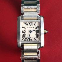 Cartier Tank Française nieuw 2017 Quartz Horloge met originele doos 2384