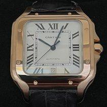 Cartier nuovo Automatico 39.8mm Oro rosa Vetro zaffiro
