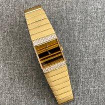 Rolex Cellini Aur galben 24mm Maron Fara cifre