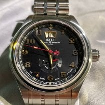 Ball Trainmaster Cleveland Express Steel 43mm Black Arabic numerals United States of America, Indiana, Noblesville