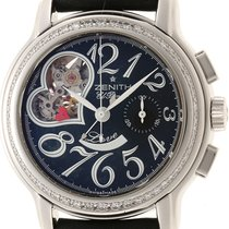 Zenith Steel 37mm Automatic 16.1230.4021 pre-owned