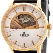 Edox Les Vauberts Staal Zilver Geen cijfers