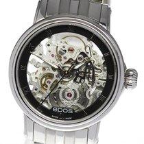 에포스 중고시계 자동 34mm 투명색