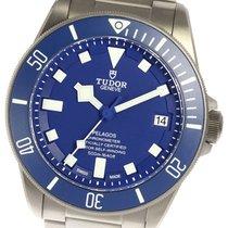 Tudor (チューダー) チタン 自動巻き ブルー 42mm 中古 ぺラゴス