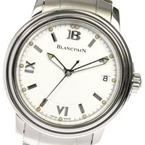 Blancpain Léman Ultra Slim Stahl 38mm Weiß