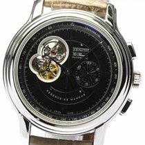 Zenith 03.1260.4021 Staal El Primero Chronomaster 45mm tweedehands