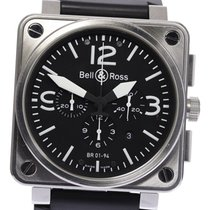 Bell & Ross Steel 46mm Automatic BR01-94/BR0194-BL-ST pre-owned