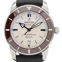 Breitling Superocean Heritage II 46 подержанные Белый Каучук