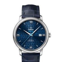 Omega De Ville Prestige Steel 39.5mm Blue Roman numerals United States of America, New York, New York