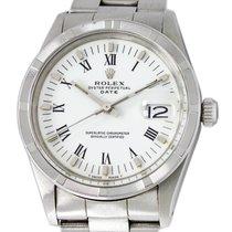 Rolex Oyster Perpetual Date Acciaio 34mm Bianco Romani