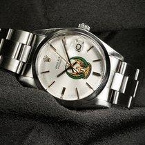 Rolex Oyster Precision Stahl 34mm Silber Keine Ziffern Schweiz, Morcote