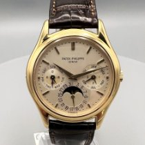 Patek Philippe Perpetual Calendar Yellow gold 36mm Silver (solid) No numerals United States of America, New York, Westchester County
