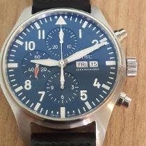 IWC Pilot Chronograph Otel 43mm Albastru Arabic România, Timisoara