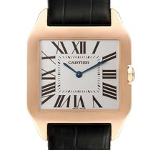 Cartier Santos Dumont Rose gold 44.6mm Silver Roman numerals United States of America, New York, New York