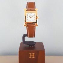Hermès Heure H W037963WW00 New Gold/Steel Quartz