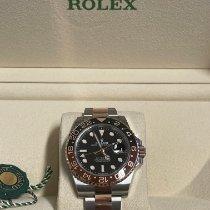 Rolex GMT-Master II Gold/Stahl 40mm Schwarz Keine Ziffern Deutschland, Bremen - Vegesack