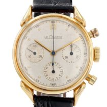Jaeger-LeCoultre Yellow gold Manual winding White 36mm pre-owned