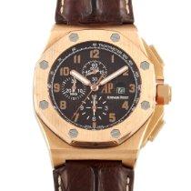 Audemars Piguet Royal Oak Offshore Chronograph Aur roz 48mm Maron