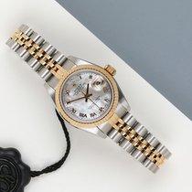 Rolex Lady-Datejust Goud/Staal 26mm Parelmoer Nederland, Maastricht