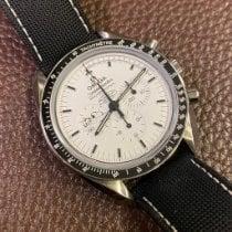 Omega Speedmaster Professional Moonwatch usados 42mm Blanco Cronógrafo Textil