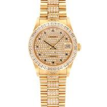 Rolex Datejust 68058 Very good Yellow gold 31mm Automatic United States of America, California, Beverly Hills
