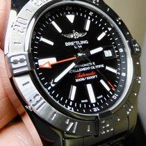 Breitling Avenger II GMT Staal 43mm Zwart