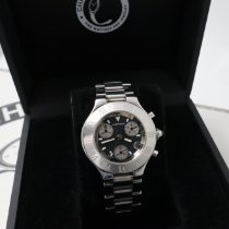 Cartier 21 Chronoscaph Steel 38mm Black United States of America, New York, NYC
