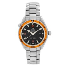 Omega Seamaster Planet Ocean Steel 45.5mm Arabic numerals United States of America, New York, NYC