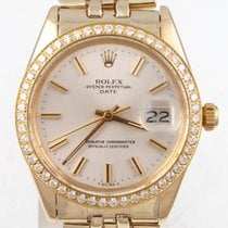 Rolex Oyster Perpetual Date Yellow gold 34mm Silver No numerals United States of America, Florida, Largo