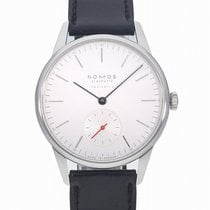NOMOS Steel 36mm Automatic OR130013W2 / 392 new
