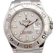 Rolex Automatic Silver 40mm pre-owned Yacht-Master 40