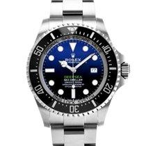 롤렉스 씨드웰러 딥씨 신규 2021 자동 시계 및 정품 박스와 서류 원본 126660