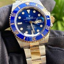 Rolex Submariner Date Gold/Steel 41mm Blue No numerals Thailand, 73000