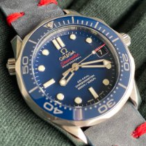 Omega Seamaster Diver 300 M Steel 36.25mm Blue No numerals