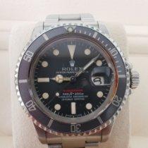 Rolex Submariner Date Acél 40mm Vörös Számjegyek nélkül