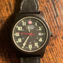 Wenger Gold/Steel 40mm 7291X pre-owned United States of America, New Jersey, Highland Park