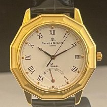 Baume & Mercier Riviera mv045137 Very good Yellow gold 36mm Automatic