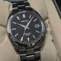 Seiko Spirit Steel 38mm Black No numerals