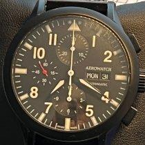 Aerowatch Les Grandes Classiques 43mm Black Arabic numerals