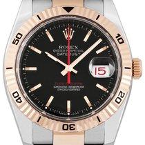 Rolex Datejust Turn-O-Graph Steel 36mm Black No numerals United Kingdom, London