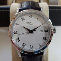 Tissot Classic Dream Сталь 42mm Белый Римские