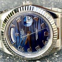 Rolex Day-Date II Weißgold 41mm Blau Römisch Schweiz, Kreuzlingen
