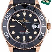 Rolex Yacht-Master 37 Rose gold 37mm Black
