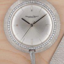 IWC Uhr gebraucht 1962 Weißgold 40mm Handaufzug Uhr mit Original-Box