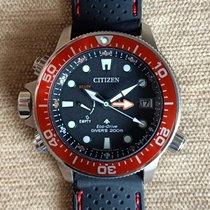 Citizen Promaster Marine Otel 46mm Negru Fara cifre