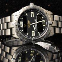 Breitling Aerospace tweedehands 40mm Grijs Chronograaf Datum Titanium