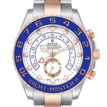 Rolex Yacht-Master II 116681-0002 Sehr gut Gold/Stahl 44mm Automatik