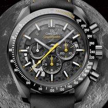 Omega Speedmaster Professional Moonwatch usados 44.25mm Negro Piel