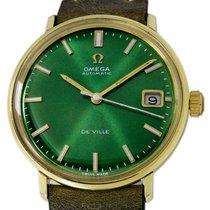 Omega De Ville Gold/Steel 34mm Green No numerals United States of America, Utah, Draper