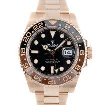 Rolex GMT-Master II Aur rosu 40mm Negru